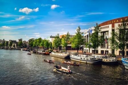 Světla a stíny Amsterdamu Bez stravy