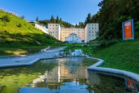 Hotel Zdraviliški Dvor - luxusní dovolená