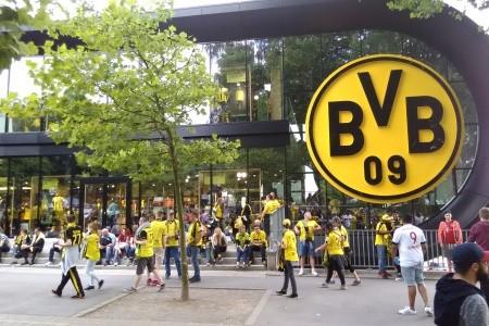Borussia Dortmund - Hertha Berlín - v dubnu