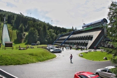 Hotel Skicentrum Harrachov - v květnu