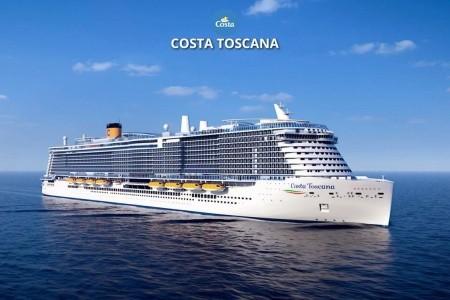 Itálie, Francie, Španělsko Z Civitavecchia Na Lodi Costa Toscana - 394136163P