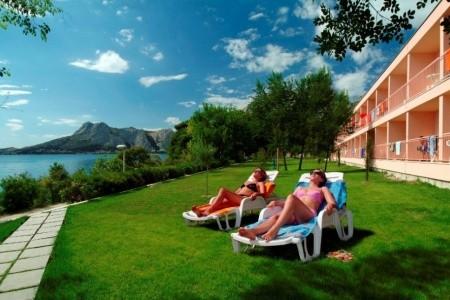 Hotel Brzet - Omiš v srpnu - Chorvatsko