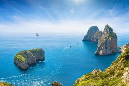 Za krásami Jižní Itálie s výstupem na Vesuv a plavbou na ost - Itálie  autobusem