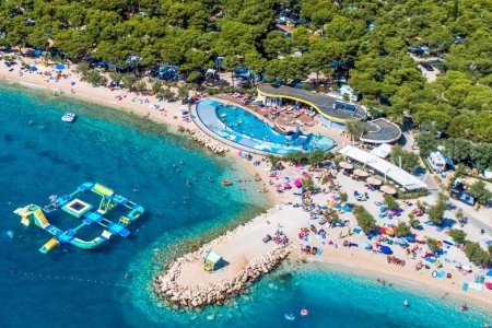 Solaris Camping Beach Resort - Mobilní Domy - Rekreační Poby - Na pláži