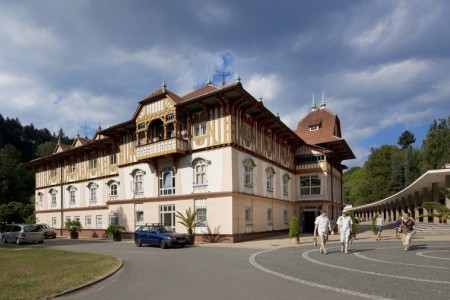 Luhačovice, Hotel Jurkovičův Dům**** - Luhačovice listopad