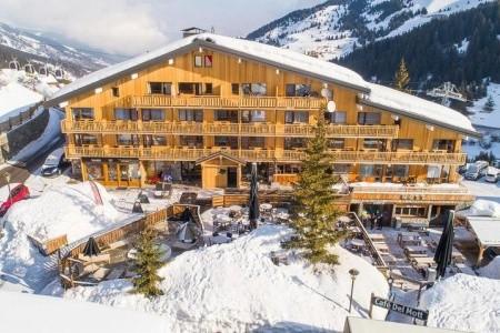 Hotel Madame Vacances Le Mottaret - v březnu