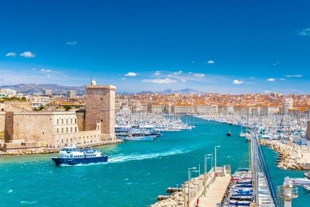 Provence - Marseille,Verdon - Hotel*/ - v červenci