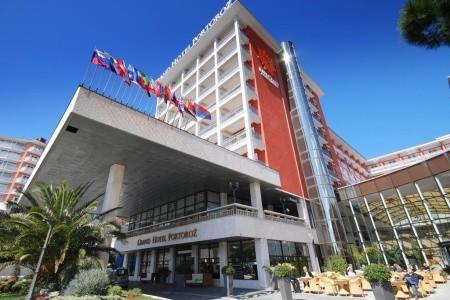 Grand Hotel Portorož: Rekreační Pobyt 7 Nocí - Last Minute a dovolená