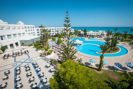Mahdia Palace - Tunisko v únoru