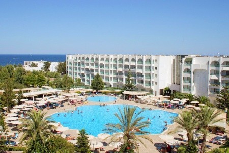 El Mouradi Palace - Tunisko v únoru