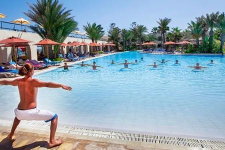Hotel Djerba Beach - Tunisko  v listopadu