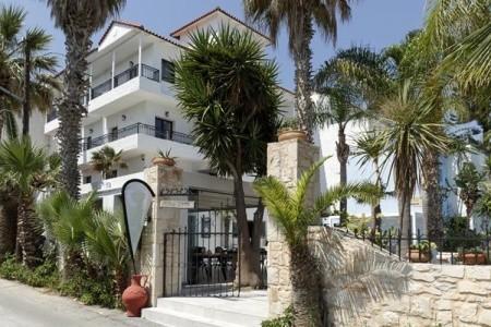 Apartmánový Dům Minoa - Řecko v červenci