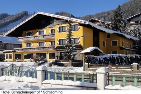 Schladmingerhof (Ei) - Rakousko v lednu