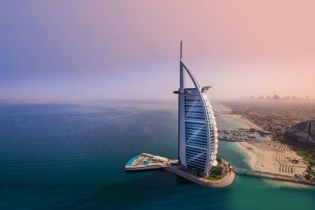 Burj Al Arab - v září