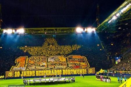 Borussia Dortmund - Hertha Berlín - Dortmund - Německo