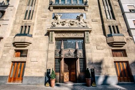 Continental Hotel Budapešť - v květnu