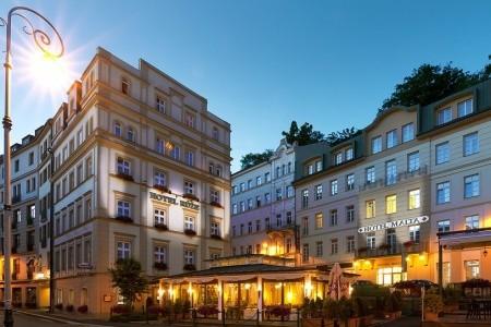 Spa Hotel Růže - Karlovy Vary v lednu