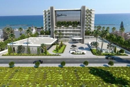 Radisson Beach Resort Larnaca - Kypr letecky z Bratislavy v srpnu
