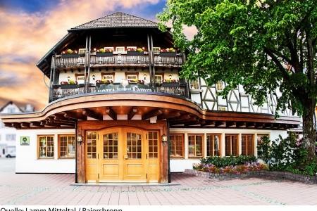 Hotel Lamm Mitteltal - v březnu