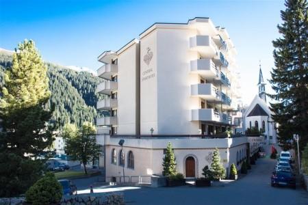 Central Sporthotel Davos **** - Léto 2021 - Švýcarsko v červenci