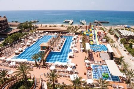 Quattro Beach Spa & Resort, Turecko, Alanya