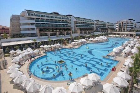 Crystal Waterworld Resort & Spa, Turecko, Belek