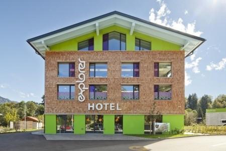 Hotel Explorer Ötztal - Rakousko v červenci