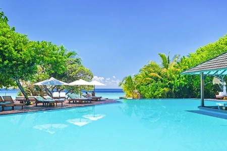 Hotel Adaaran Select Meedhupparu & Prestige Water, Maledivy,