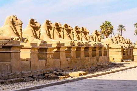 Památky Luxoru s českým průvodcem a pobyt u moře - Poznávací zájezdy