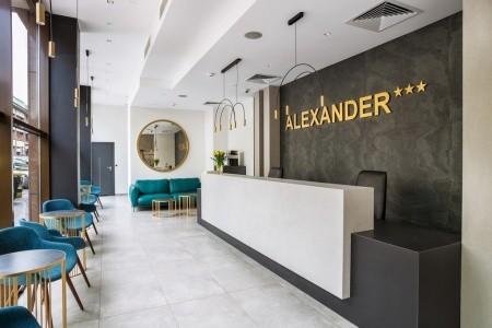 Hotel Alexander: Rekreační Pobyt 6 Nocí - 2022