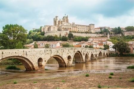 LANGUEDOC A ROUSSILLON, ZEMĚ MOŘE, HOR A KATARSKÝCH HRADŮ S  - Languedoc - Roussillon - Francie