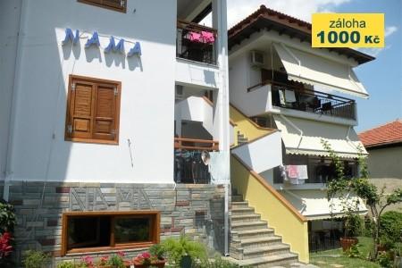 Apartmány Nama - apartmány u moře