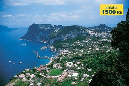 Itálie - Capri / Řím, Neapolský záliv