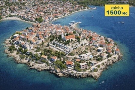 Apartmánová Vila Porat Chorvatsko Primošten last minute, dovolená, zájezdy 2016