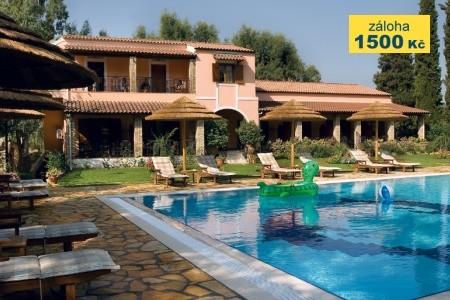 Corfu Club Aparthotel - apartmány u moře