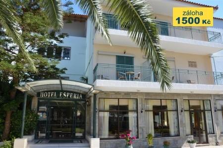 Hotel Esperia - v září