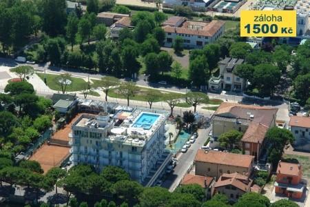 Hotel Colombo S Bazénem Sk- Lido Di Jesolo - letní dovolená