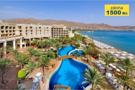 Intercontinental Aqaba - v srpnu