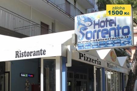 First Minute Do 28.2.2019 Lido Di Jesolo - Hotel Sorrento*** - v srpnu