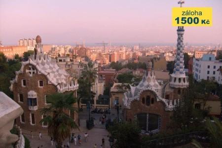 Slnečná Barcelona s pobytom pri mori Polopenze