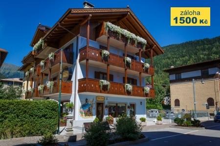 Hotel Villa Lucin Pig- Pinzolo - v dubnu