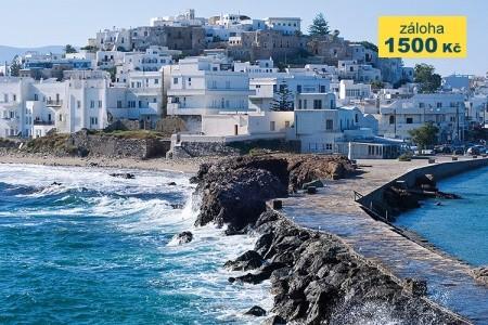 Kombinace Ostrovů Santorini + Paros + Naxos 2* Hotely - na ostrově