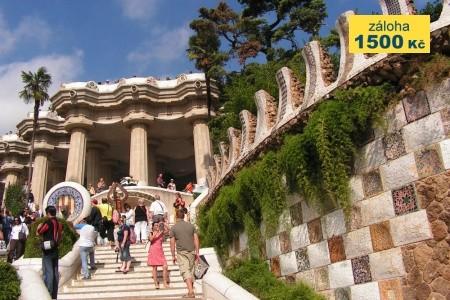 Barcelona s pobytem u moře - poznávací zájezdy