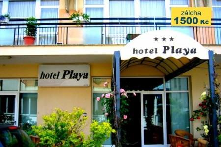 Hotel Playa - v červenci
