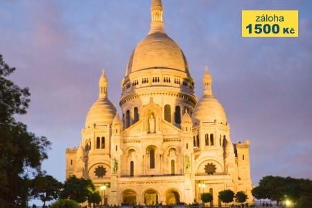 Magická Paříž a Versailles Bez stravy