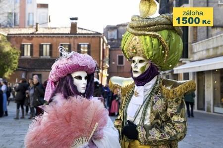 Karneval v Benátkách a Florencie Bez stravy