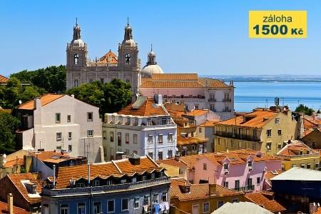 To nejlepší z Lisabonu + MOŘE (letecky z Prahy) Snídaně