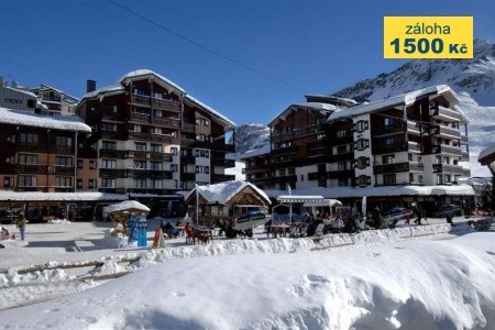 Residence Odalys Le Rond Point Des Pistes