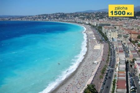 Nice, Cannes, Saint Tropez Snídaně