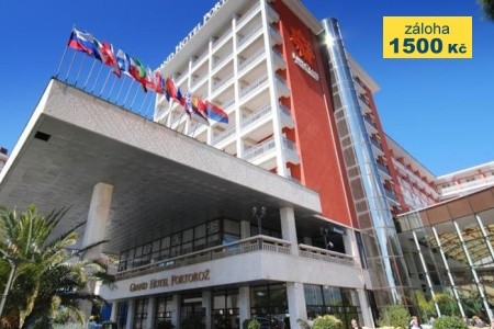 Grand Hotel Portorož – Terme & Wellness Snídaně First Minute